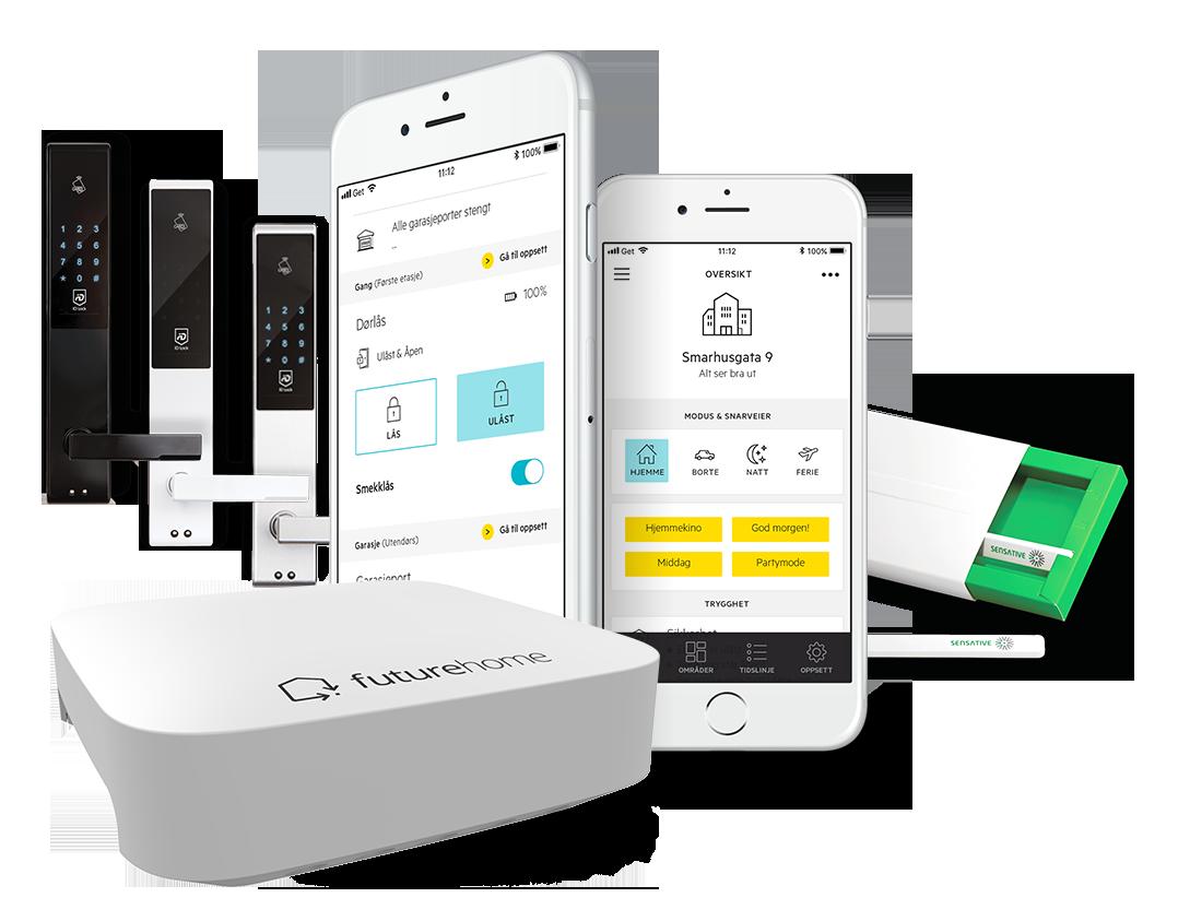 Bilde av Futurehome app og produkter